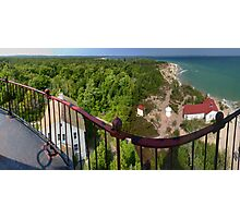 From the South Manitou Lighthouse Photographic Print