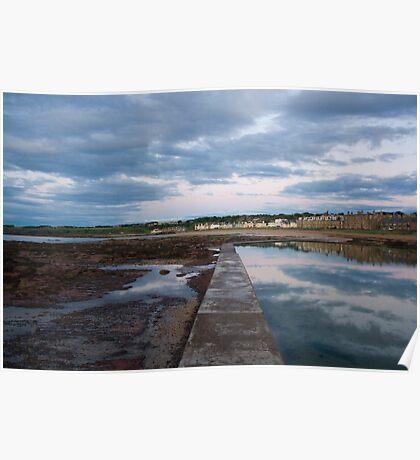 Milsey Bay, North Berwick Poster