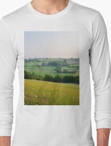 a desolate Belgium landscape Long Sleeve T-Shirt