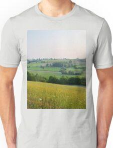 a desolate Belgium landscape Unisex T-Shirt