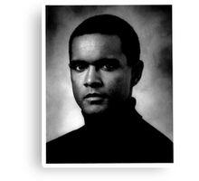 Actor portrait Canvas Print