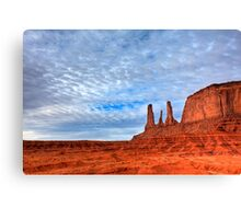 Three Sisters Butte Canvas Print