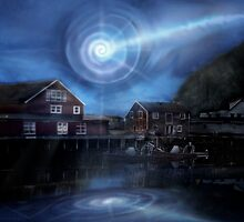 Norway UFO Vortex by Cliff Vestergaard