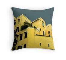 Italian houses Throw Pillow