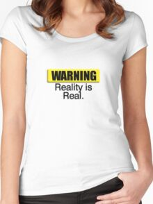 Warning3 Women's Fitted Scoop T-Shirt