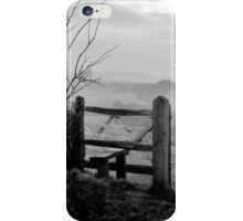 Over the fields........ iPhone Case/Skin