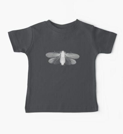White Moth Baby Tee