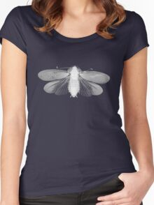 White Moth Women's Fitted Scoop T-Shirt