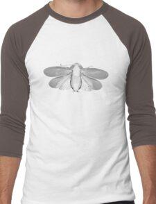 White Moth Men's Baseball ¾ T-Shirt