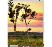 Sunset on the plain HDR iPad Case/Skin