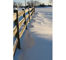 Snow Drifts Photographic Print