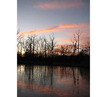 Freezing The Sunset Photographic Print