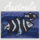 Tribal Fish Australia by Kayleigh Walmsley