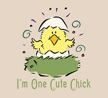 "Easter Chick ""I'm One Cute Chick"" Unisex T-Shirt"