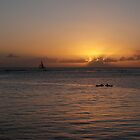 Waikiki Sunset by Rosy Kueng