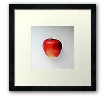 taste red apple Framed Print