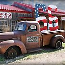 Route 66 in Adrian, Texas by Patricia Montgomery