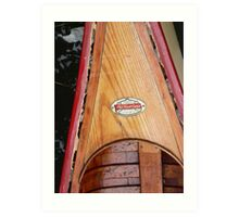 Old Town Canoe Art Print