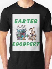 """Happy Easter """"Easter Eggspert"""" Unisex T-Shirt"""