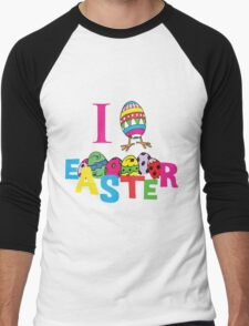 "Easter ""I Love Easter"" Men's Baseball ¾ T-Shirt"