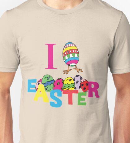 """Easter """"I Love Easter"""" Unisex T-Shirt"""