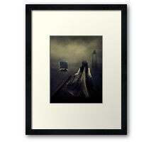 After the long waiting Framed Print