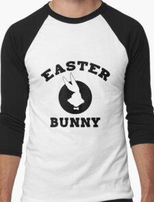 Funny Easter Bunny Women's Men's Baseball ¾ T-Shirt