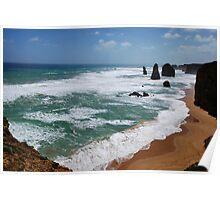 12 Apostles Port Campbell National Park Vic.Australia !!! Poster