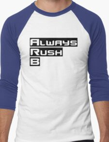 Always Rush B Men's Baseball ¾ T-Shirt