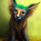 Colorful Dog by Tanya Wheeler Varga