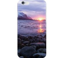Rocky Lofoten Sunset iPhone Case/Skin