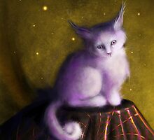 Mystic Kitten by Tanya Wheeler Varga