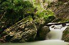 Springtime waterfall by Patrick Morand