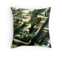Streets of Berlin Throw Pillow
