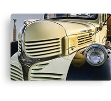 Dodge Truck on Route 66 Canvas Print