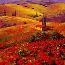 Tuscany Poppy Hills by sesillie