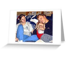 The Love Of Family.... Greeting Card