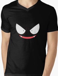 Pokemon - Gastly / Ghos V.2 Mens V-Neck T-Shirt