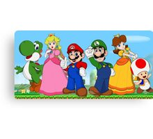 Super Mario Bros Canvas Print