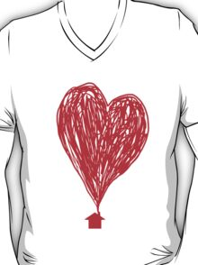 Plumes Of Love (red) T-Shirt
