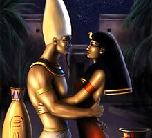 Osiris and Isis by Tanya Varga (formerly Tanya Wheeler)