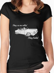 Dungeon Rider - They see me rollin' Women's Fitted Scoop T-Shirt