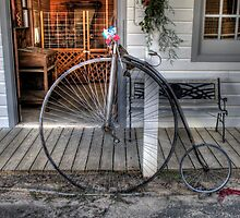 Antique Bicycle by Terence Russell