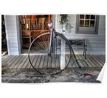Antique Bicycle Poster