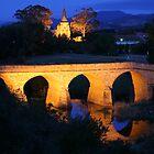 Richmond Bridge and Chruch, Tasmania, Australia by Michael Boniwell