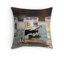 Down and out Throw Pillow