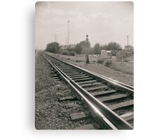 Alberta Rail Canvas Print