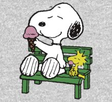 Snoopy and Woodstock Ice Cream Kids Clothes