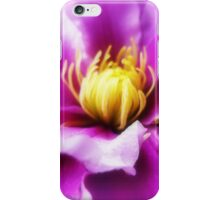 *Clematis -Dandenong Ranges* iPhone Case/Skin