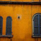 Parma. Two Windows. Emilia-Romagna, Italy 2009 by Igor Pozdnyakov